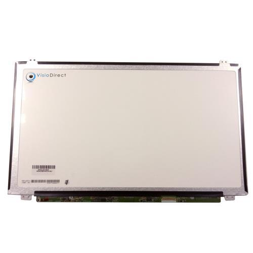 Visiodirect® dalle ecran 15.6 led pour hp compaq pavilion 15 au092nd ordinateur portable