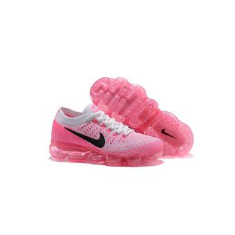 Air De Femme Chaussure Flyknit Vapormax Baskets Running Rose Nike