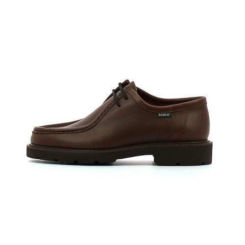 Aigle Bourgogne Marron 40 Chaussures de ville Adulte Homme