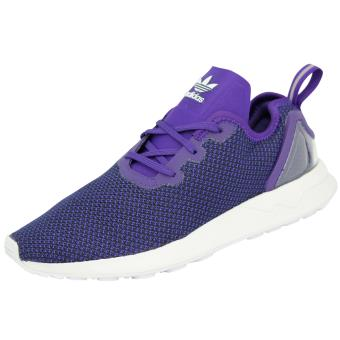 competitive price 4743f 9c983 ... noir rouge violet blanc réductions prix 938ca 1a8e9  where to buy adidas  originals zx flux adv asymetrical chaussures mode sneakers homme violet ...