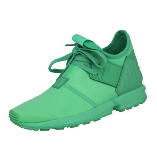 Adidas originals zx flux plus k <strong>chaussures</strong> mode sneakers enfant vert
