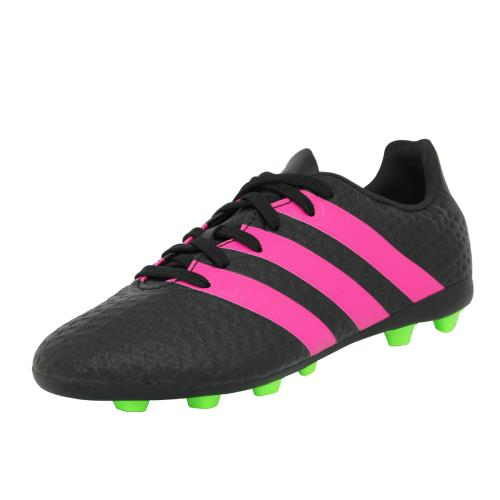 Adidas performance ace 16.4 fxg j <strong>chaussures</strong> de football enfant noir rose
