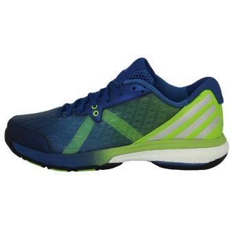 adidas Performance ENERGY VOLLEY BOOST Chaussures de Volleyball Homme Bleu Vert 4YLLTY