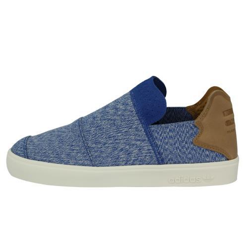 Adidas Originals VULC SLIP ON PHARRELL WILLIAMS Chaussures Mode Sneakers Homme Bleu