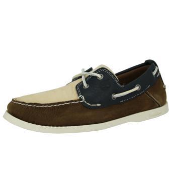 Heritage Cuir Classic Homme Timberland Chaussures Brun Bateau v5zqqT1w