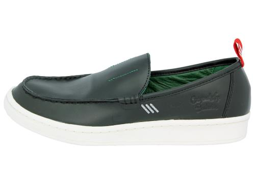 adidas Originals BW LOAFER Chaussures Mocassin Homme Cuir Noir Bedwin and The Heartbreakers Tokyo