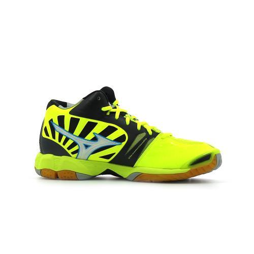 meilleures baskets 6f8e6 cfaaa Chaussures Indoor Mizuno Wave Tornado X Mid Jaune Pointure 42,5 Adulte Homme
