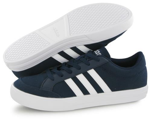 Adidas Neo Vs Set Bleu, baskets mode homme Chaussures et