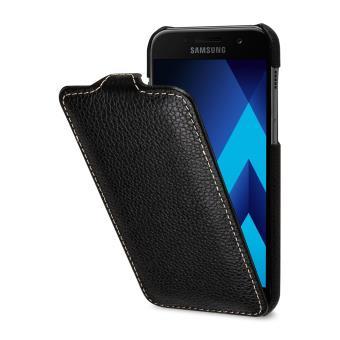 Etui Galaxy A3 (2017) UltraSlim en cuir véritable noir - StilGut - Etui  pour téléphone mobile - Achat   prix   fnac 665c554eeeeb