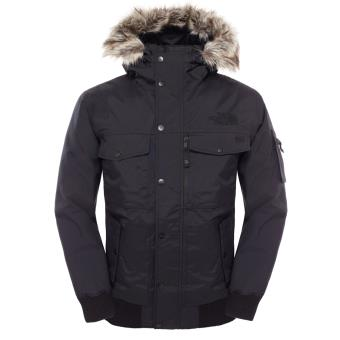 design intemporel eb474 159d5 The North Face GOTHAM JACKET Veste Homme Noir Duvet d'oie DryVent