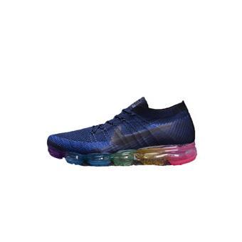 Bleu Nike Vapormax Air Chaussure Baskets Flyknit De Running Homme 8wAxdq