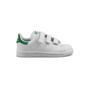 acheter populaire fb168 1d0e7 Basket Adidas Originals Stan Smith Enfant Blanc M20607