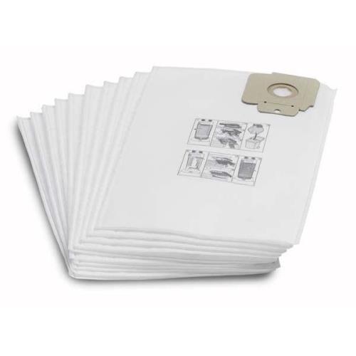 Karcher - Lot de 10 sacs filtrant indéchirable classe M - 69043050