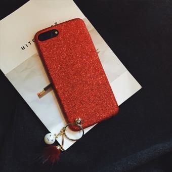 coque iphone 7 rouge brillant