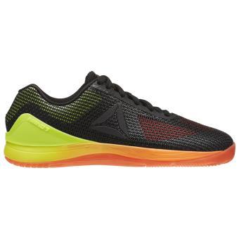 Reebok Chaussures CrossFit Nano 7 orange/jaune fluo/noir/gris Pointure 36 Adulte Femme - Chaussures et chaussons de sport - Achat & prix