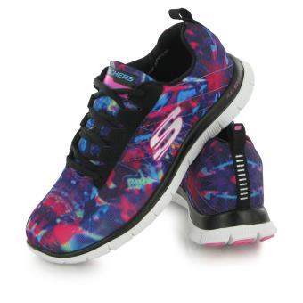 46a916ac3b3 Skechers Flex Appeal Cosmic Rays Multicolore 39 Chaussures Adulte Femme -  Chaussures et chaussons de sport - Achat   prix
