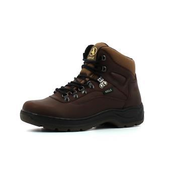 Chaussures En Adulte Marron Aigle Montante 43 Cuir Pointure Picardie DWIHE29