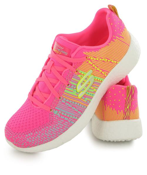 Skechers Burst Ellipse W rose, chaussures de training