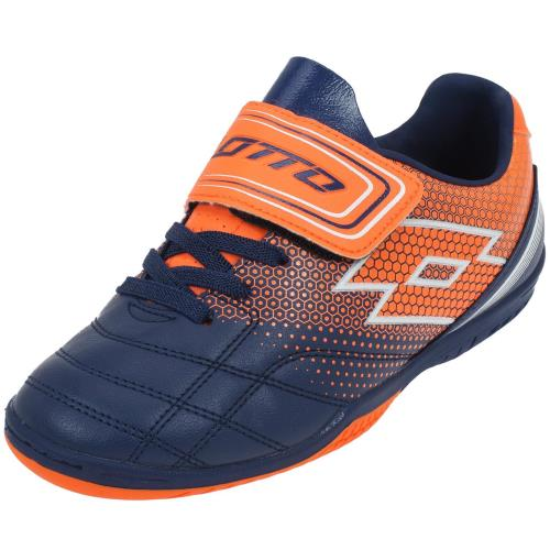<strong>Chaussures</strong> de football lotto spider 700 xiii id bleu pointure 28 enfant mixte