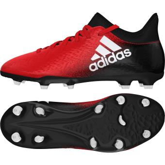 Adidas Chaussures X 16.3 FG rouge/blanc/noir Pointure 31 ...