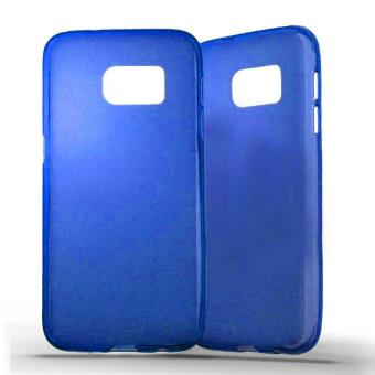 coque samsung s7 silicone bleu
