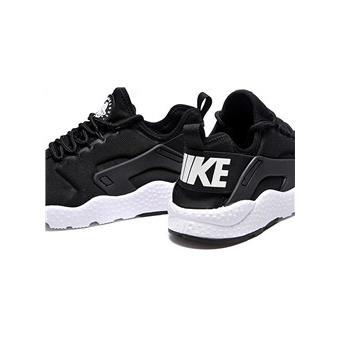 NIKE AIR HUARACHE RUN ULTRA Basket Mixte Chaussures noir et