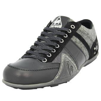 f86033e7afe109 ... dessins italiens bizot basse noire chaussures qualité supérieure 258ae  87df2; best price le coq sportif turin lea 2 tones chaussures mode sneakers  homme ...