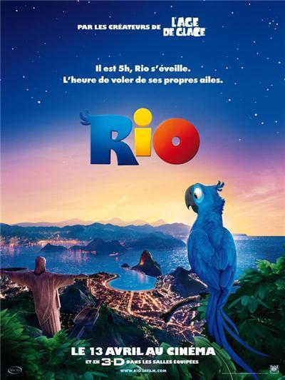 RIO - AFFICHE Cinéma Originale 120X160 cm, Poster/affiche enroulé ...
