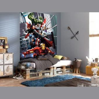 Papier Peint Xl équipe Avengers Marvel Autre Poster Top Prix Fnac