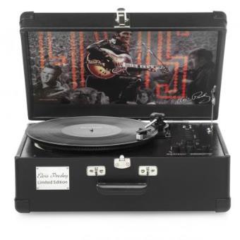 platine vinyle en valise dition limit e elvis 1968 ricatech ep1968 platine vinyle achat. Black Bedroom Furniture Sets. Home Design Ideas