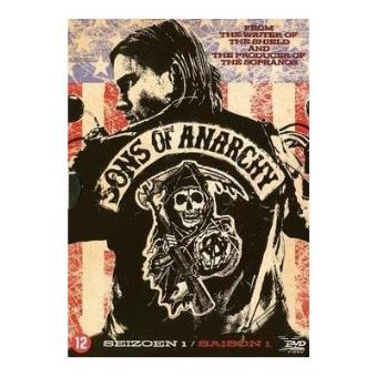 SONS OF ANARCHY 1-4 DVD-BILINGUE