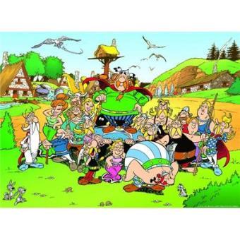 Puzzle 500 pièces Astérix au village Ravensburger