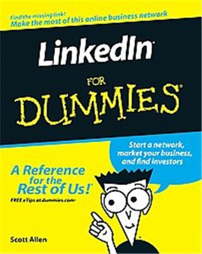 LinkedIn For Dummies, For Dummies (Computer/Tech)