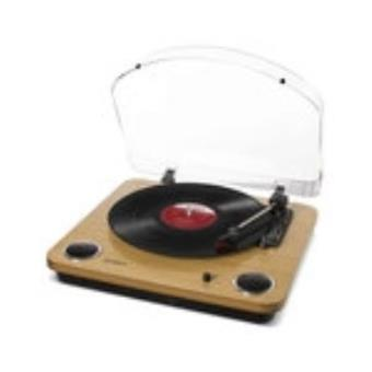 max lp wood ion audio platine vinyle achat prix fnac. Black Bedroom Furniture Sets. Home Design Ideas