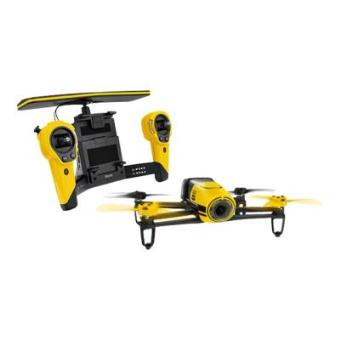 PARROT BEBOP DRONE + SKYCONTROLLER YELLOW