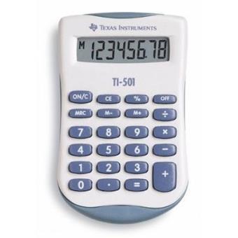 Texas instruments ti 501 calculatrice 4 opérations