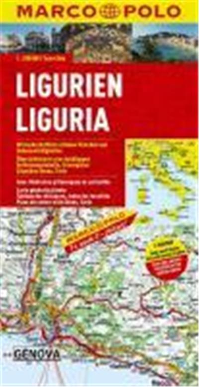 MARCO POLO Karte Italien 05. Ligurien 1 : 200 000