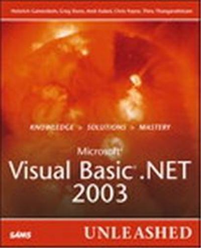 Microsoft Visual Basic .Net 2003, Unleashed Series