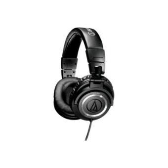 AUDIO-TECHNICA ATHM50 BLACK STUDIO MONITOR HEADPHONE