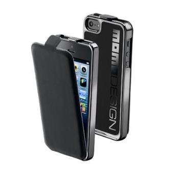 Coque arriere MOMODESIGN avec clapet amovible pour iPhone 5 5S