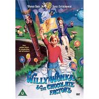 WILLY WONKA AND THE CHOCOLATE-DVD