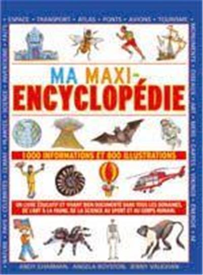 ma maxi-encyclopédie