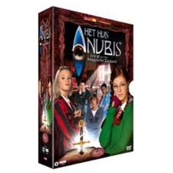 huis anubis 5 vol 1 de vijf het magische zwaard 4 dvd