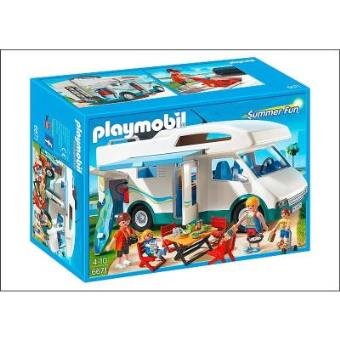 Playmobil Summer Fun 6671 Famille avec camping-car