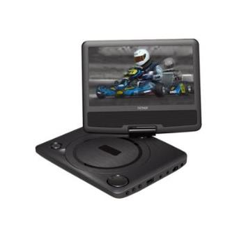 """Denver 7"""" Portable DVD player with swivel screen"""