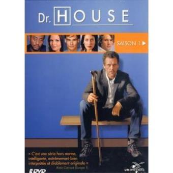 DR HOUSE 1-6 DVD-VF
