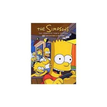 SIMPSONS (SEASON 10)(4DVD)(IMP)