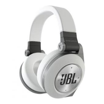 jbl synchros e50bt white casque circum aural sans fil bluetooth blanc casque filaire. Black Bedroom Furniture Sets. Home Design Ideas
