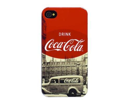 Coque Coca Cola iPhone 4 4S City Cab