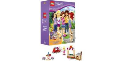 Logo LEGO FRIENDS: FRIENDS ARE FOREVER-FRIENDS TOGETHER AGAIN-BIL
